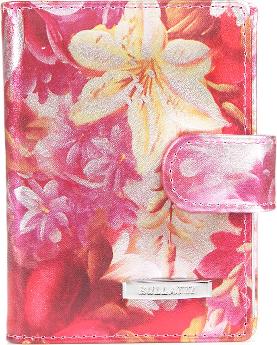 Визитница женская Bullatti, цвет: розовый. 2107L-F66 -  Визитницы