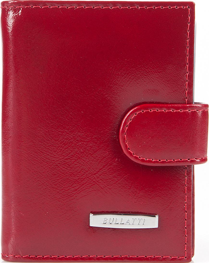 Визитница женская Bullatti, цвет: бордовый. 2107U-F73 -  Визитницы