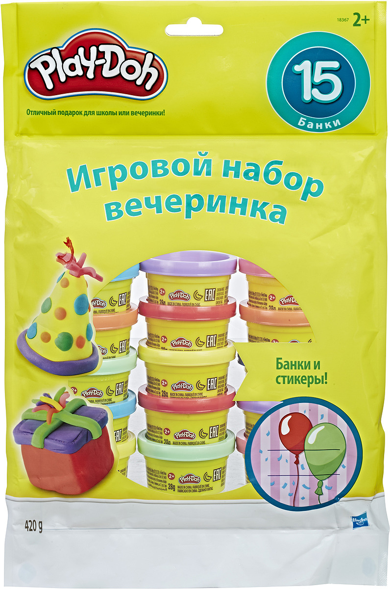 Play-Doh Набор для лепки Вечеринка -  Пластилин