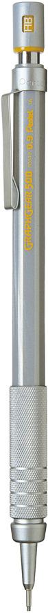 Карандаш автоматический Pentel Graphgear 500, толщина 0.9 мм -  Карандаши