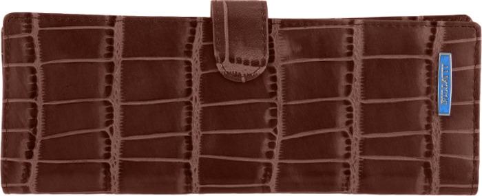Визитница женская Bullatti, цвет: темно-коричневый. 2477U-E83 -  Визитницы