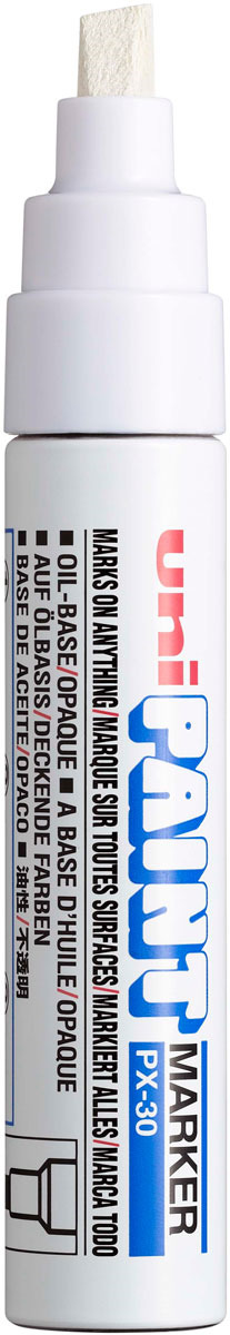 Маркер Uni, PX-30 цвет: белый, 4,0-8,5 мм -  Маркеры