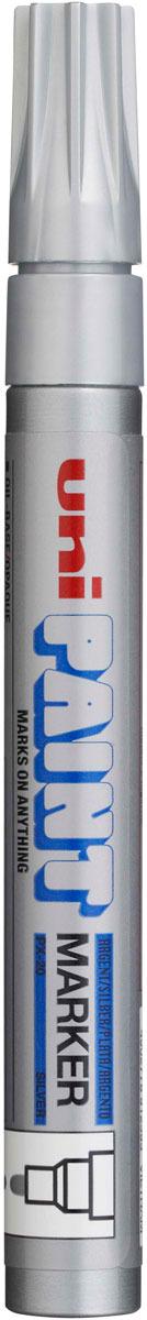 Маркер Uni, PX-30 цвет: серебристый, 2,2-2,8 мм -  Маркеры