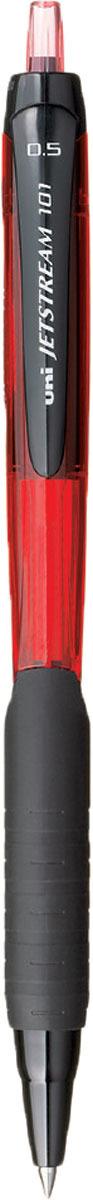 Набор автоматических шариковых ручек Uni, Jetstream SXN-101-05, цвет чернил: красный, 12 шт -  Ручки