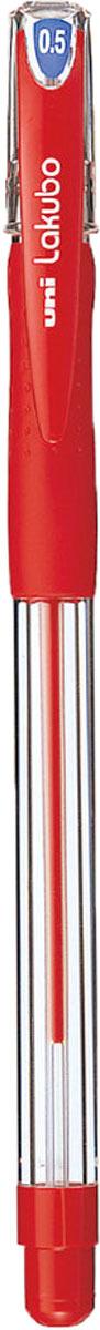 Набор ручек шариковых Uni, Lakubo SG-100, цвет чернил: красный, 0,5 мм. 12 шт -  Ручки