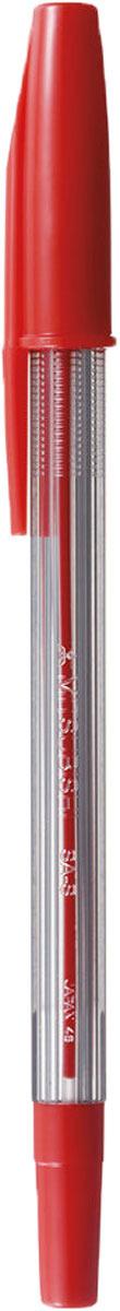 Набор ручек шариковых Uni, FINE SA-S, цвет чернил: красный, 0,7 мм. 12 шт -  Ручки