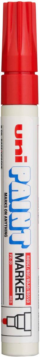 Маркер Uni, PX-30 цвет: красный, 2,2-2,8 мм -  Маркеры