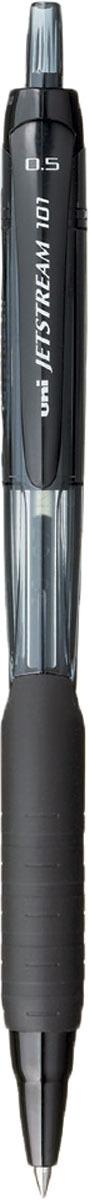 Набор автоматических шариковых ручек Uni, Jetstream SXN-101-05, цвет чернил: черный, 12 шт -  Ручки