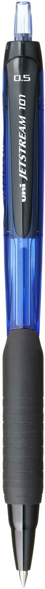 Набор автоматических шариковых ручек Uni, Jetstream SXN-101-05, цвет чернил: синий, 12 шт -  Ручки