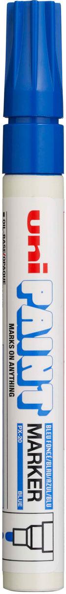 Маркер Uni, PX-30 цвет: синий, 2,2-2,8 мм -  Маркеры