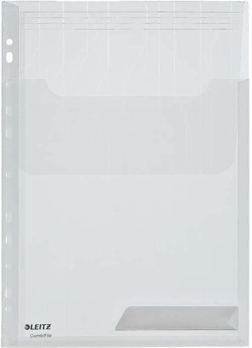 Папка с прозрачными вкладышами Leitz. 219370 -  Файлы и разделители