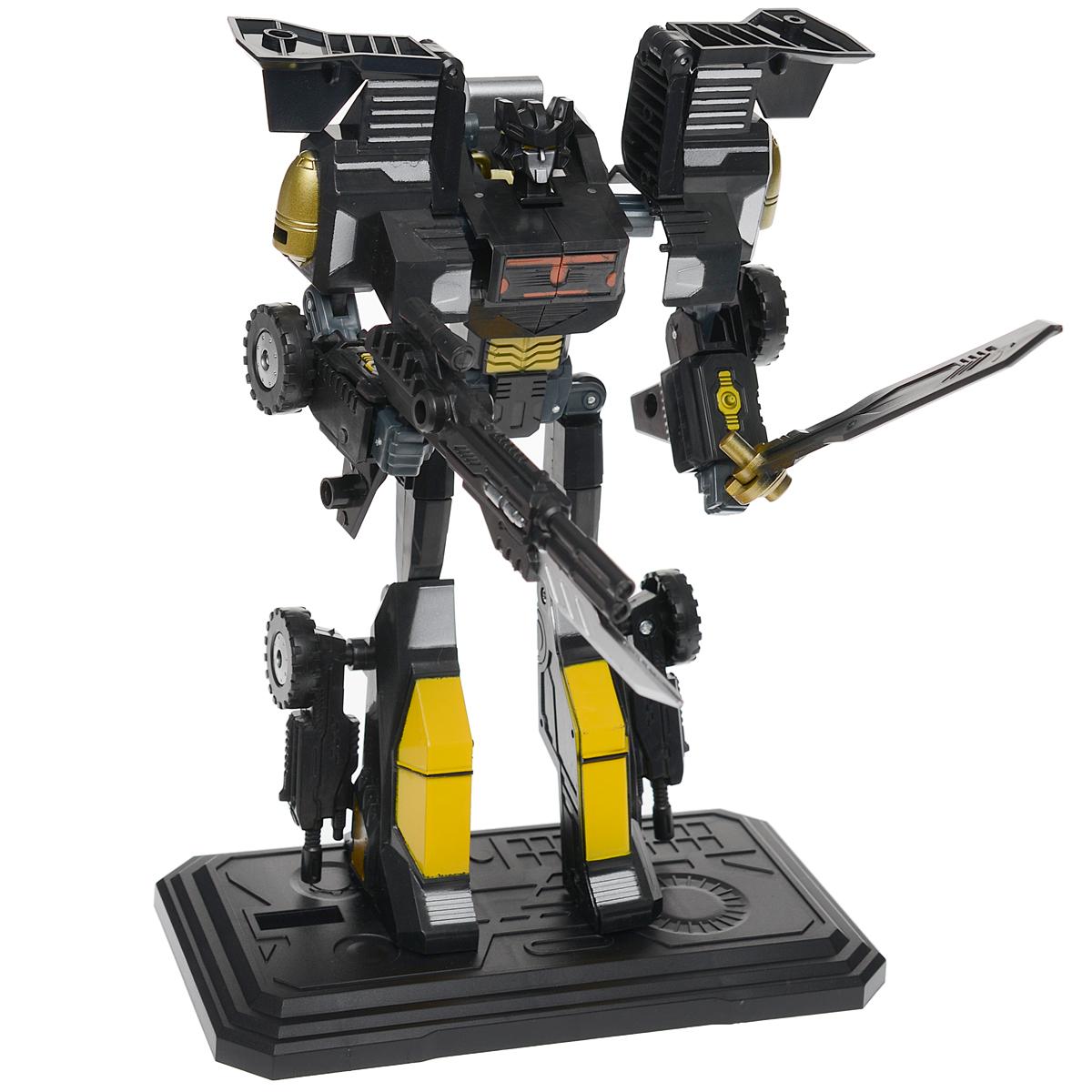 """Фото Робот-трансформер 3 в 1 """"Cross Orcs"""", механический, цвет: черный, желтый. Купить  в РФ"""