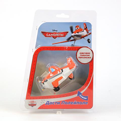 Фото Пластизоль Самолет Дасти, со звуком, на колесиках. Купить  в РФ
