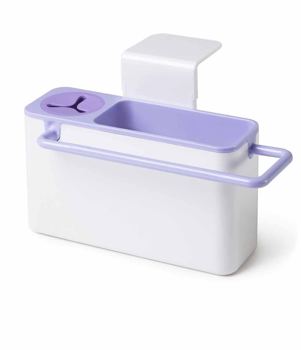 """Фото Подставка для кухонных принадлежностей Идея """"Mr. Чистюля"""", цвет: сиреневый. Купить  в РФ"""