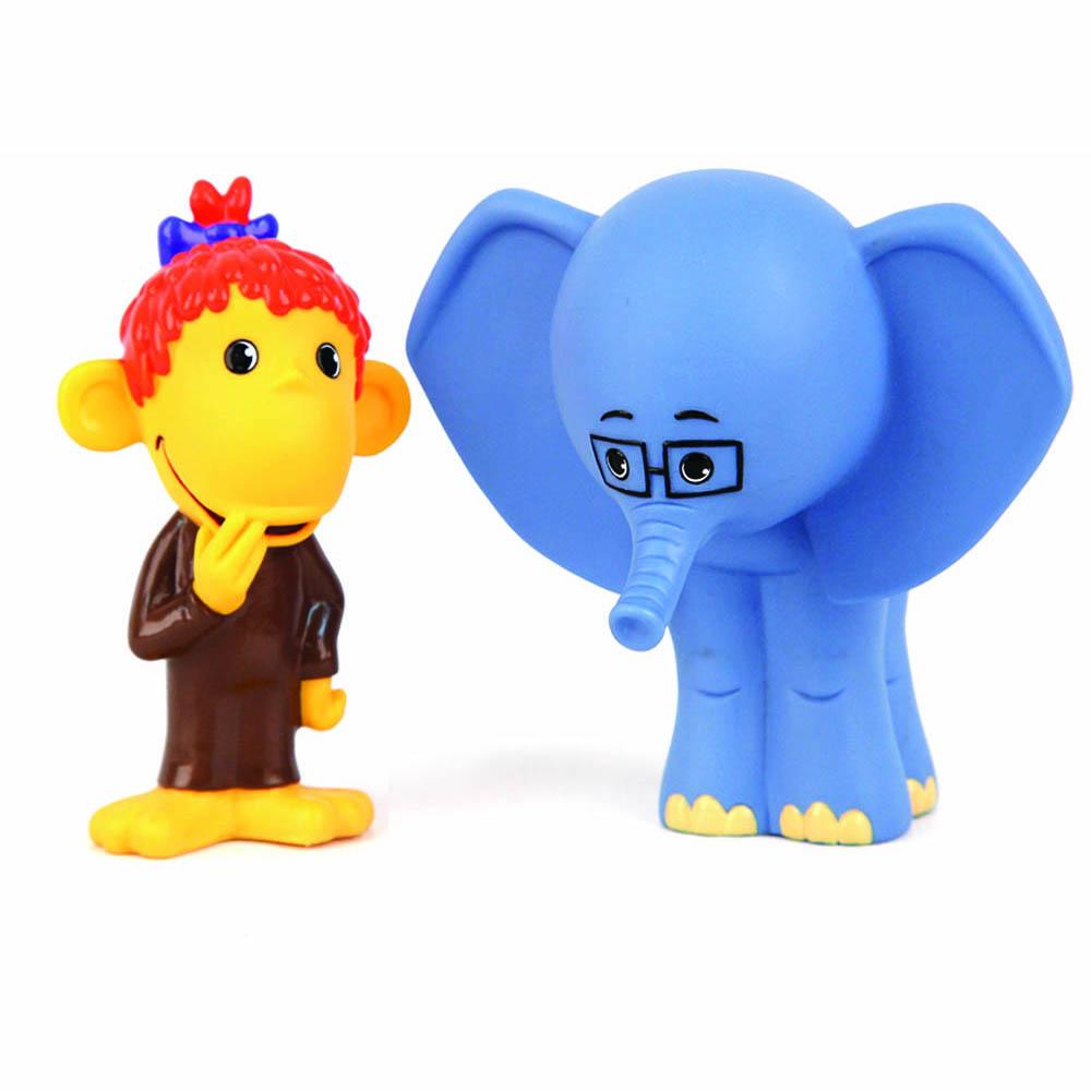 Фото Союзмультфильм Игрушка для ванной Мартышка и Слоник. Купить  в РФ