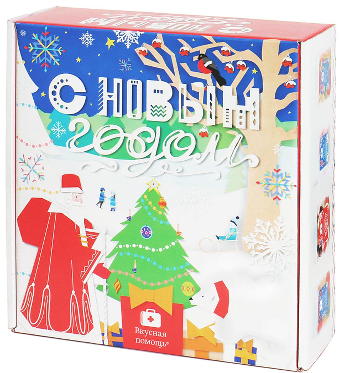 Подарочный набор для ребенка на новый год