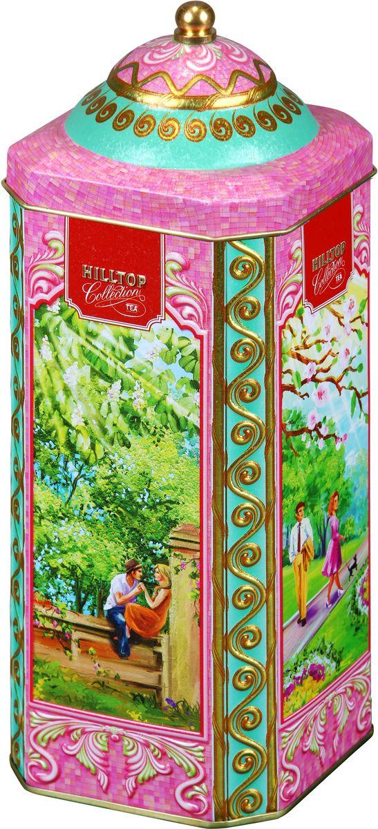Фото Hilltop Весенняя прогулка черный листовой чай, 125 г. Купить  в РФ