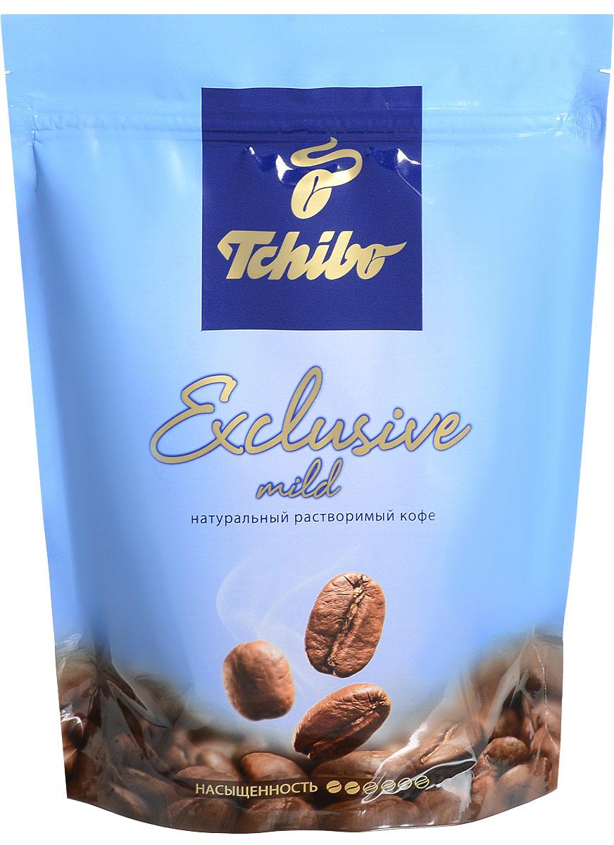 Фото Tchibo Exclusive Mild кофе растворимый, 150 г. Купить  в РФ