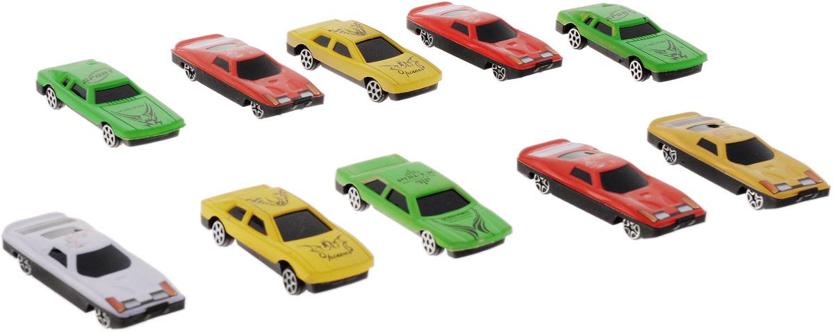 Фото Plastic Toy Набор машинок 10 шт. Купить  в РФ