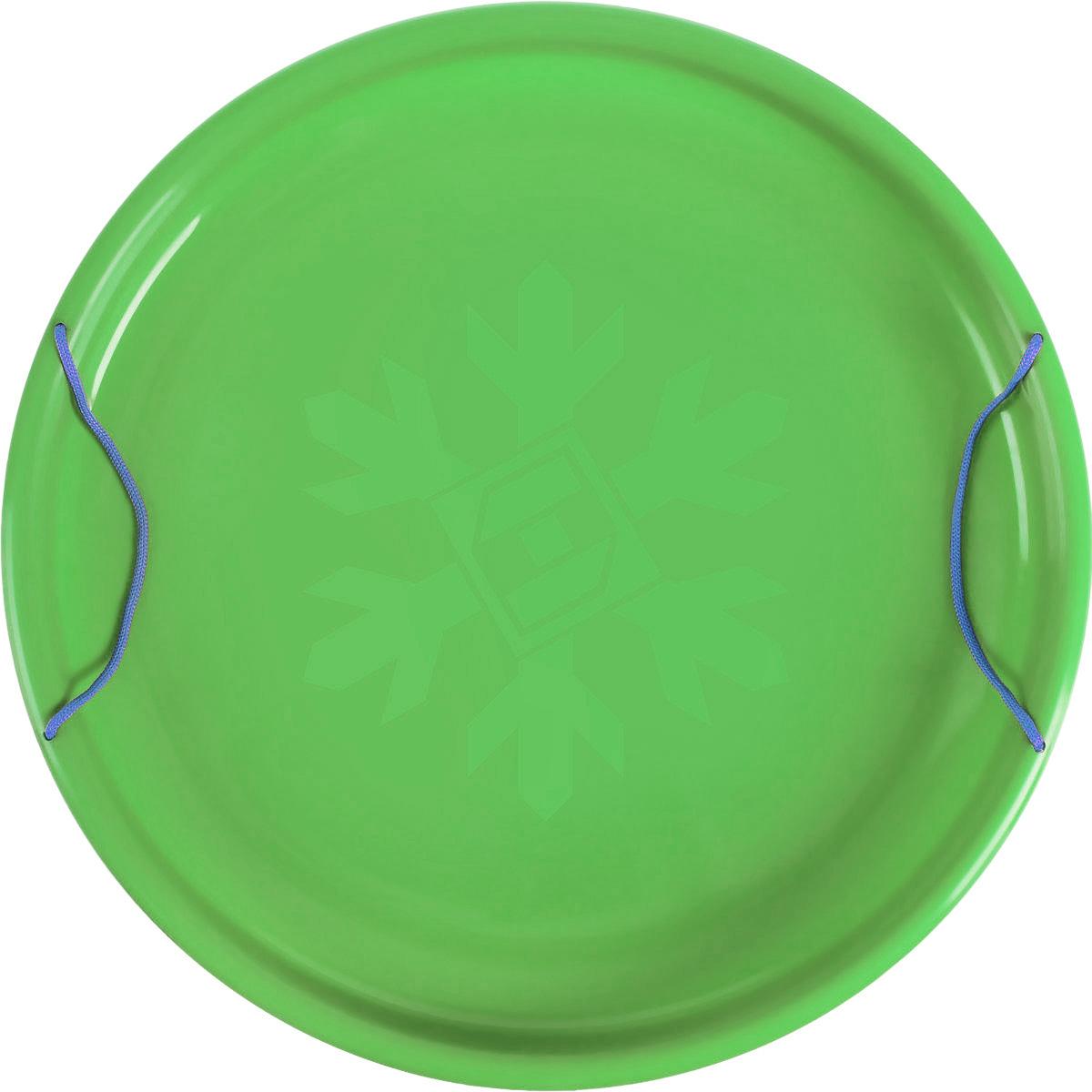 """Фото Санки-ледянки Престиж """"Экстрим"""", цвет: зеленый, диаметр 53 см. Купить  в РФ"""