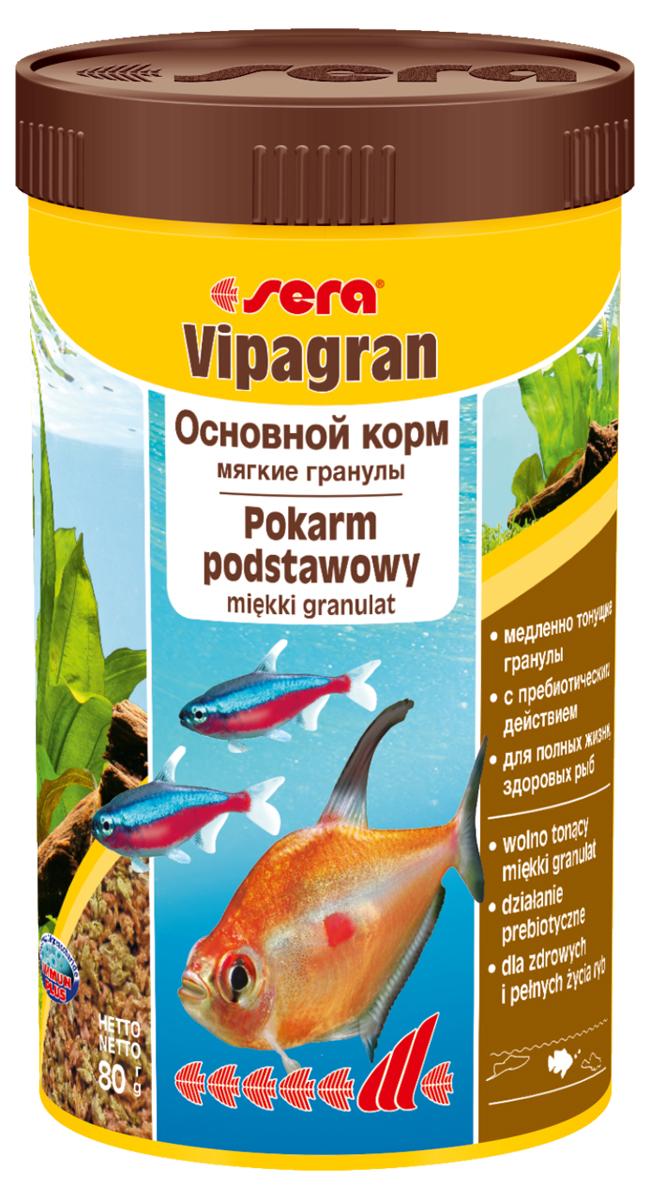 """Фото Корм для рыб Sera """"Vipagran"""", 250 мл (80 г). Купить  в РФ"""