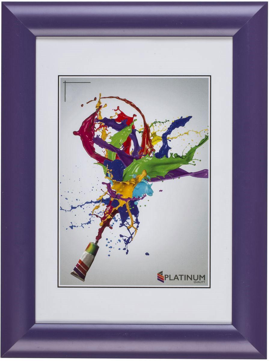 """Фото Фоторамка Platinum """"Аркола"""", цвет: фиолетовый, 15 x 21 см. Купить  в РФ"""
