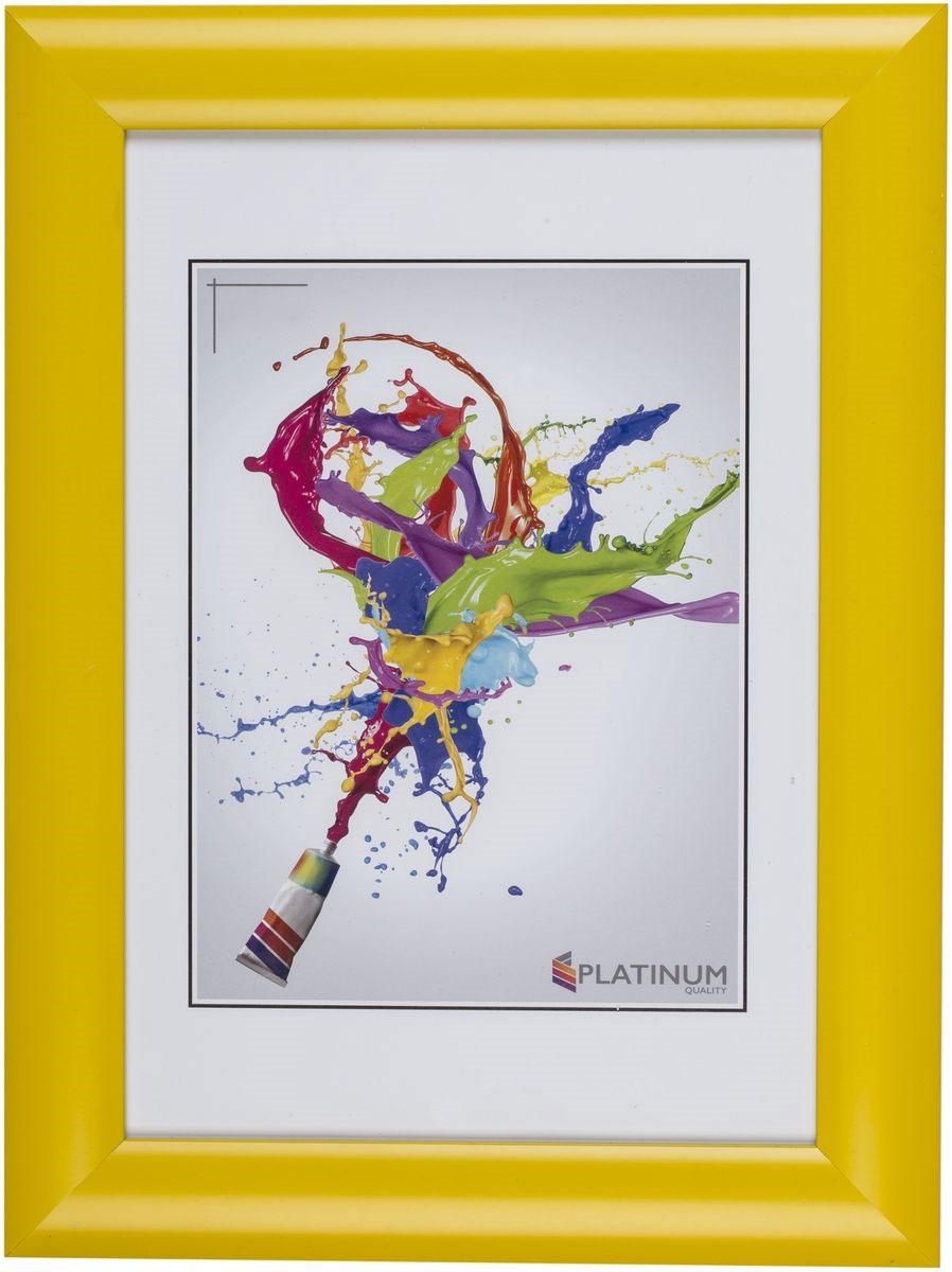 """Фото Фоторамка Platinum """"Аркола"""", цвет: желтый, 15 x 21 см. Купить  в РФ"""