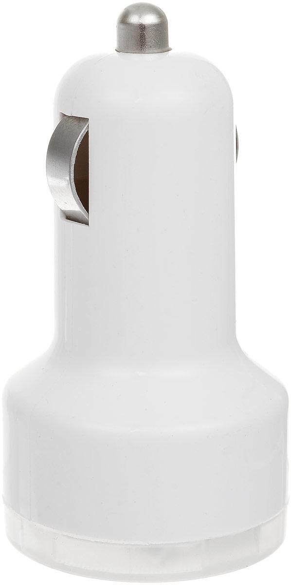 """Фото Устройство зарядное Триада """"USB-750"""", 2 гнезда, цвет: белый. Купить  в РФ"""