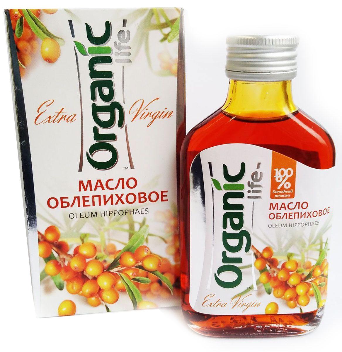 Фото Organic Life масло облепиховое, 100 мл. Купить  в РФ