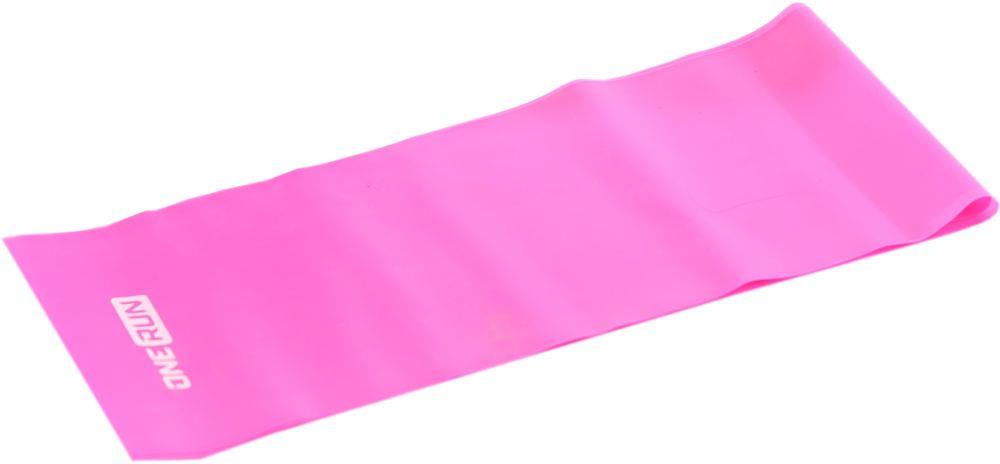 """Фото Эспандер-лента """"OneRun"""", цвет: розовый, 12 х 120 см. Купить  в РФ"""