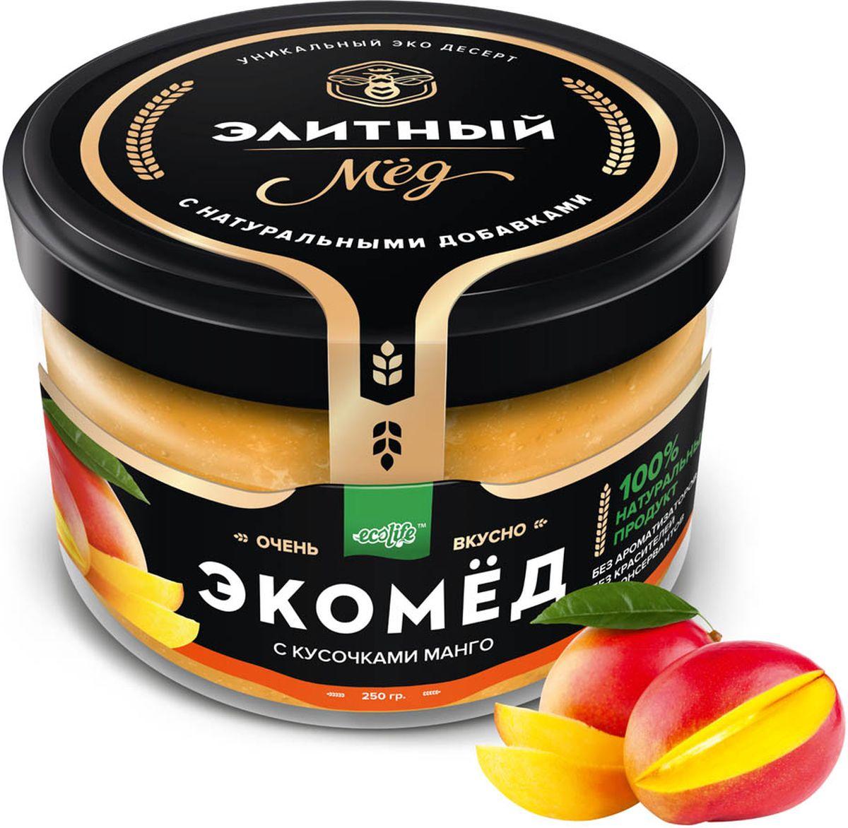 Фото Ecolife Экомед с манго, 250 г. Купить  в РФ