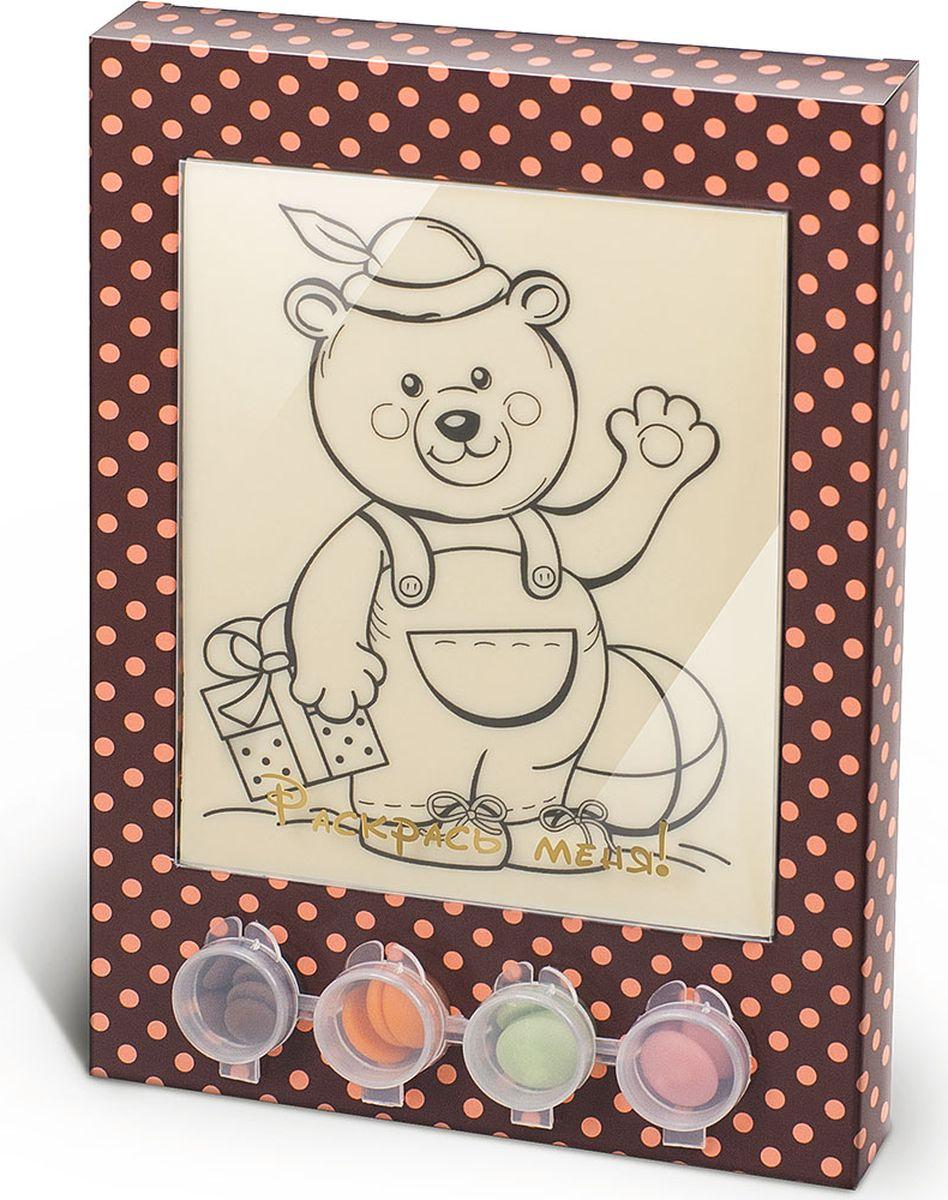Фото Лакомства для здоровья набор шоколада и глазури раскраска Мишка, 110 г. Купить  в РФ