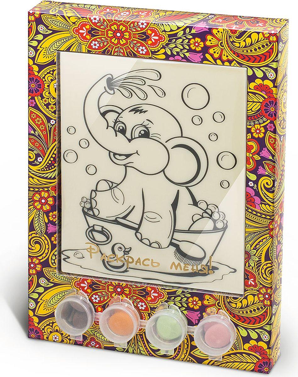 Фото Лакомства для здоровья набор шоколада и глазури раскраска Слоник, 110 г. Купить  в РФ