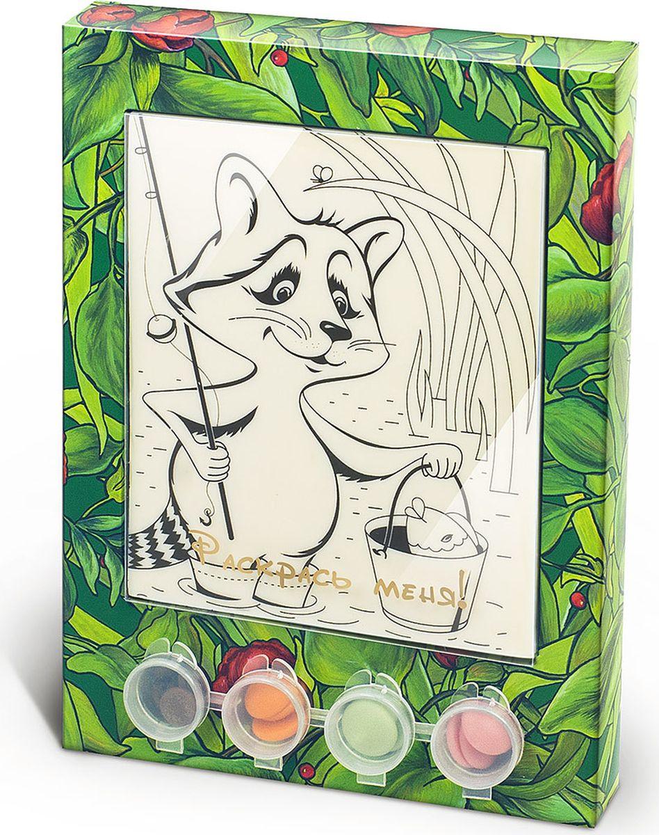 Фото Лакомства для здоровья набор шоколада и глазури раскраска Енот, 110 г. Купить  в РФ