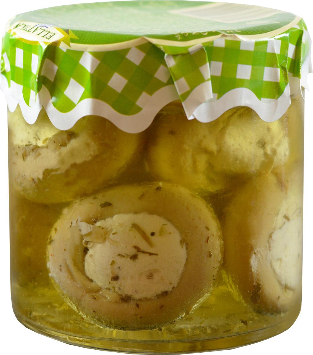 Фото Ellatika грибочки фаршированные сыром в масле, 210 г. Купить  в РФ