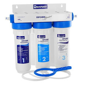 """Водоочиститель многоступенчатый Барьер """"Профи Standard"""" купить по выгодной цене в интернет-магазине Ozon.ru"""