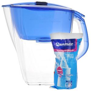 """Фильтр-кувшин для воды Барьер """"Гранд NEO"""", цвет: ультрамарин купить по выгодной цене в интернет-магазине Ozon.ru"""