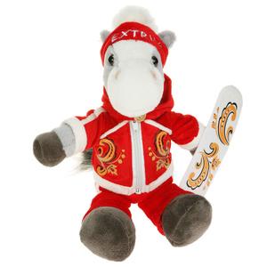 """А почему бы Споту не стать лошадкой? Купите этого коника на """"Озоне"""", выньте наполнитель, сшейте новую одежду - и персонаж готов! (Только нужно подрисовать ему где-нибудь пятнышко, чтобы оправдывал своё имя)"""