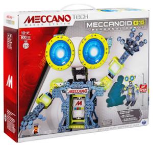 Купить Meccano Конструктор Робот Меканоид G15 - детские товары Meccano в интернет-магазине OZON.ru, цена meccano конструктор робот меканоид g15