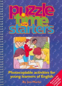 Печатная версия Puzzle Time for Starters: Photocopiable Activities for Young Learners of English