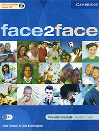 OZON.ru - Книги | Face2Face: Pre-intermediate Student's Book (+ CD-ROM) | Chris Redston & Gillie Cunningham | Купить книги: интернет-магазин / ISBN 978-0-521-60335-5