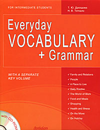Everyday Vocabulary + Grammar: For Intermediate Students (+ CD-ROM)