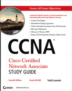 CCNA Cisco Certified Network Associate Study Guide Todd Lammle 978-0-470-30107-6