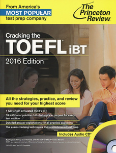 Cracking the Toefl IBT (+ CD)