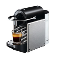 DeLonghi EN 125.S Nespresso Pixie, Light Silver капсульная кофемашина