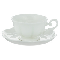 "Чайная пара Royal Bone China ""White"", 2 предмета"