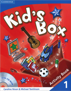 Kid's Box: Level 1: Activity Book (+ CD-ROM). Michael Tomlinson | | 978-0-521-13190-2