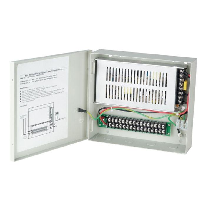 Video Control PW816S-12R блок питания для систем видеонаблюдения (8 камер)