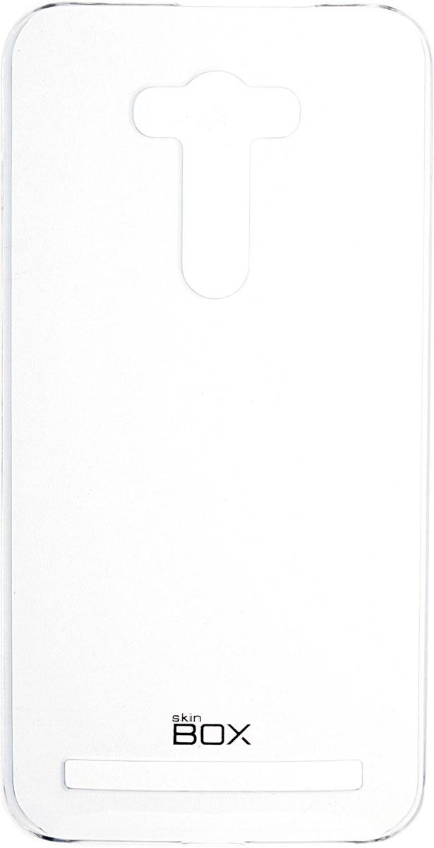 Фото Skinbox 4People Crystal чехол для Asus Zenfone 2 Laser (ZE550KL), Transparent. Купить  в РФ