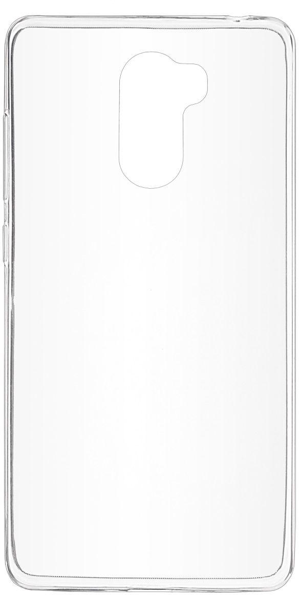 Фото Skinbox Slim Silicone чехол для Xiaomi RedMi 4, Transparent. Купить  в РФ